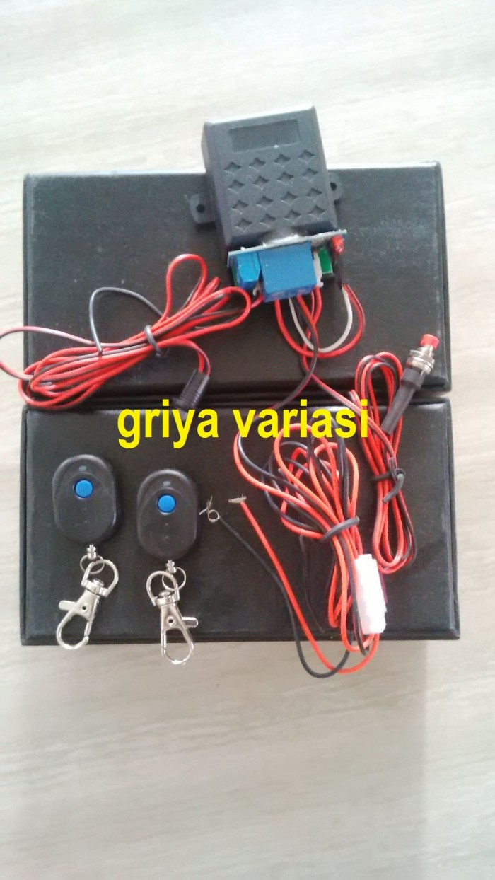 harga Immobilizer Motor Mobil / Remote Alarm Pintar / Smart Key Tokopedia.com