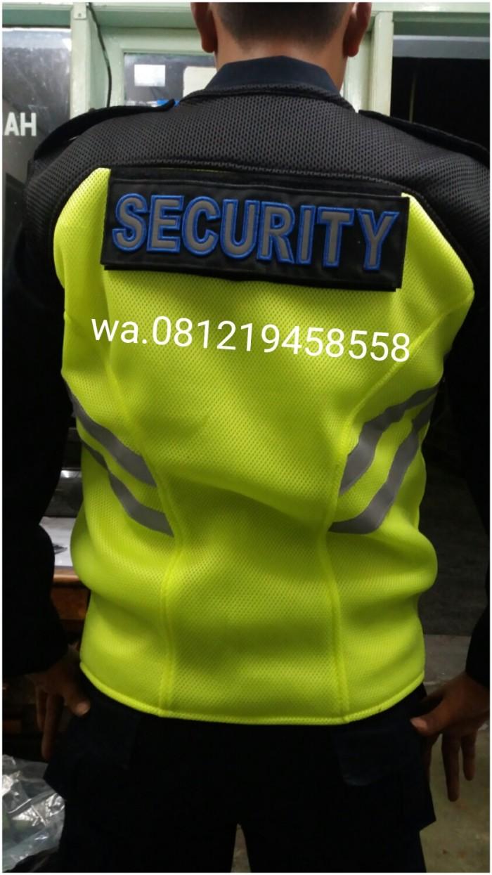 Jual Rompi satpam / security tebal dobel mesh - Kota