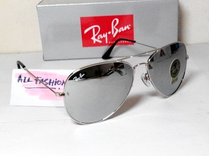 Jual Kacamata Ray B Aviator 3026 Silver Mirror Lens (Kaca) - Grosir ... 7d0ffa19c5