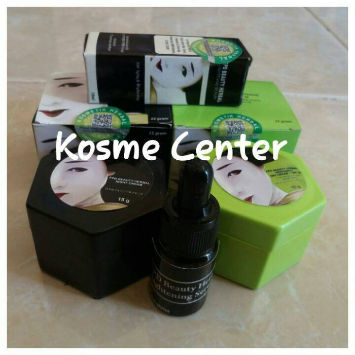 Paket Komplit FPD / Paket Magic Glossy (Cream Siang + Malam + Serum)