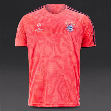 new product d4ead 22e36 Jual Adidas FC Bayern Munchen UCL Training Adizero Tee Original - Karis  Originals | Tokopedia