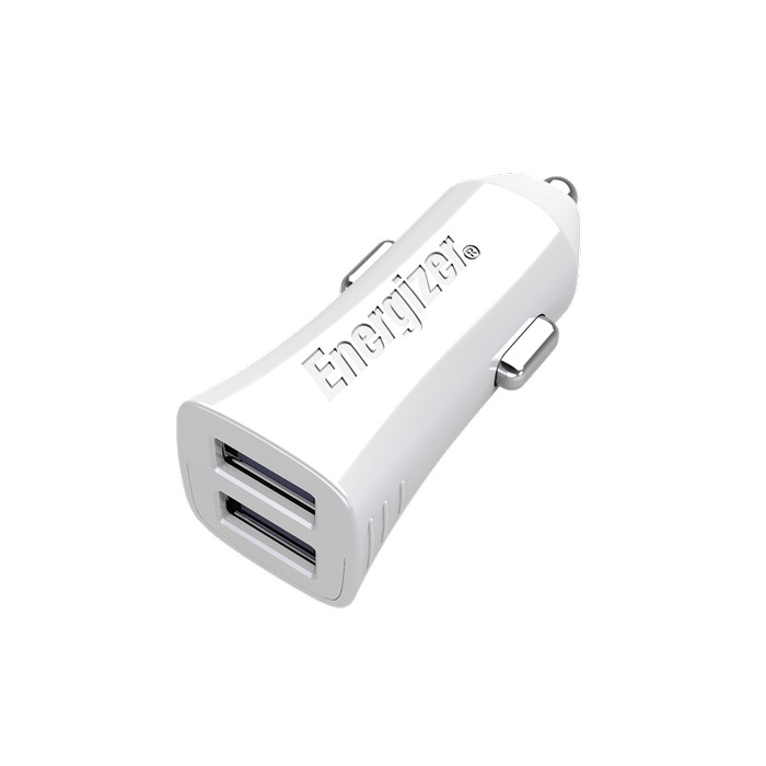 harga Energizer Ultimate Car Charger 3.4a 2usb Port - White Tokopedia.com