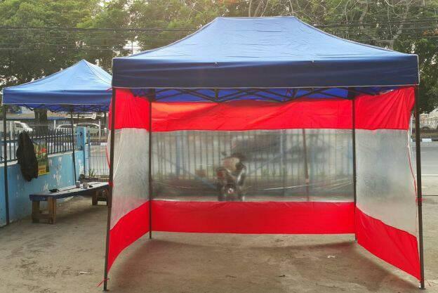 Tirai tenda serba bisa
