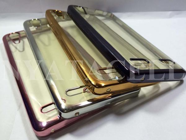 Case List Chrome Lenovo A6000 A6010 A6000+ Plus/Softcase / Tpu