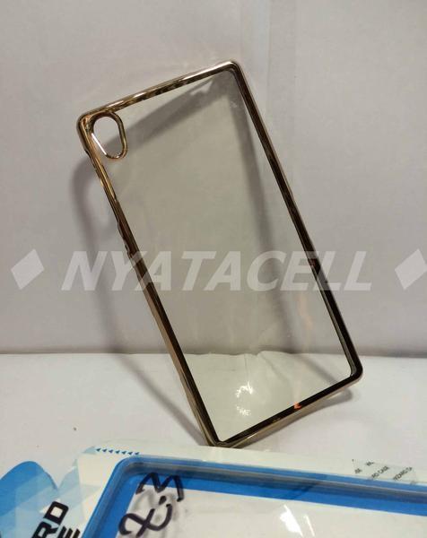 Case List Chrome Sony Xperia Z3 /Softcase / Tpu / Ultrathin / C