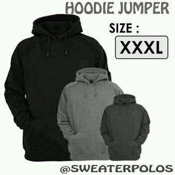 Jual Hot Product Jaket Sweater Hoodie Jumper XXXL Jumbo Pria dan ... b9d06ba81b