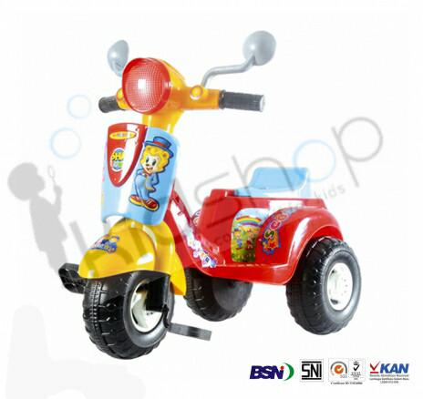 harga Mainan sepeda roda tiga anak / scooter / scoopy / vespa / mio pancal Tokopedia.com