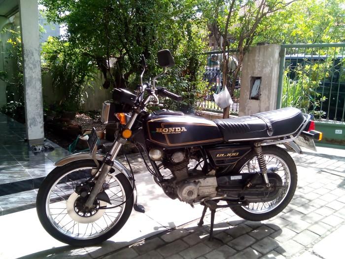 Jual Motor Honda Gl100 1984 Mulus Kolektor Antik The Heritage