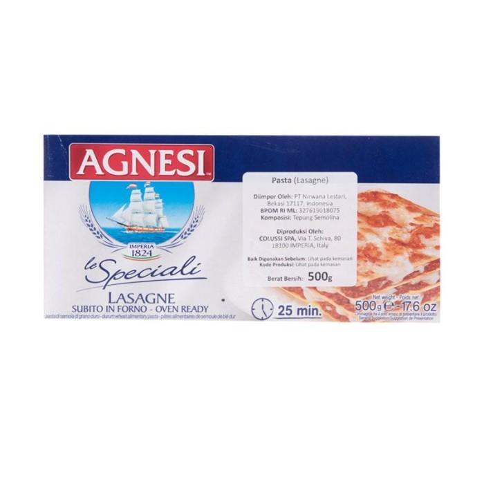 harga Agnesi lasagne 500gr   lasagna   makanan instan Tokopedia.com