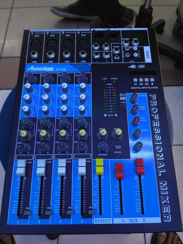 harga Mixer audio 4 chanel audioline Tokopedia.com