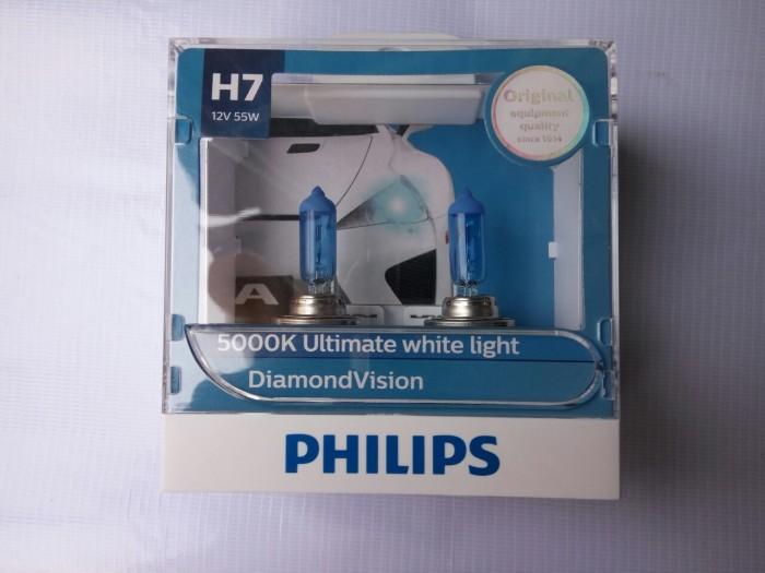 harga Bohlam / Bola Lampu Philips H7 Diamond Vision Ninja 250, R25 Tokopedia.com