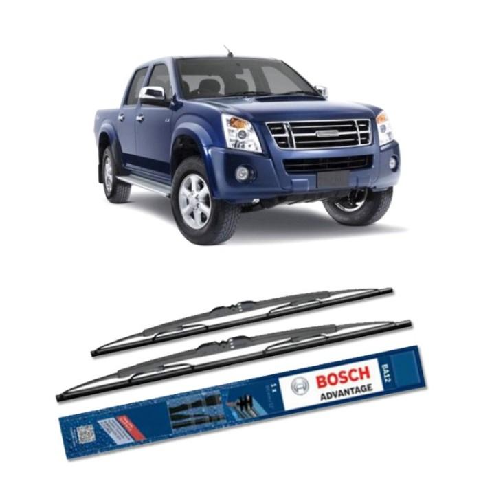 Jual Bosch Sepasang Wiper Mobil Isuzu Rodeo D-Max (2004) Advantage 21  & 19 Harga Promo Terbaru