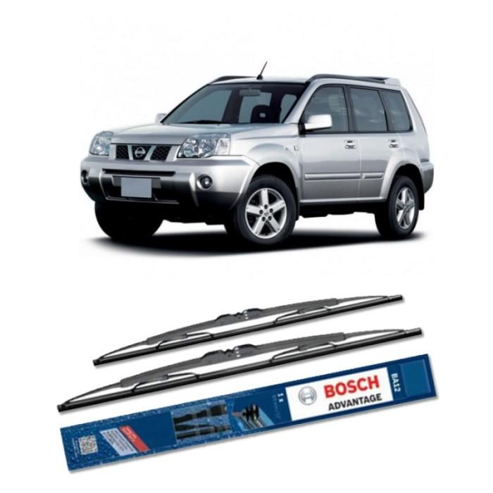 Jual Bosch Sepasang Wiper Kaca Mobil Nissan X-Trail T30 Advantage 24  & 16  Harga Promo Terbaru