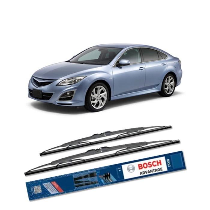 Jual Bosch Sepasang Wiper Kaca Mobil Mazda 6 Gh (2007) Advantage 24  & 16  Harga Promo Terbaru