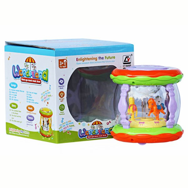 harga Mini wonderland merry go round music drum Tokopedia.com
