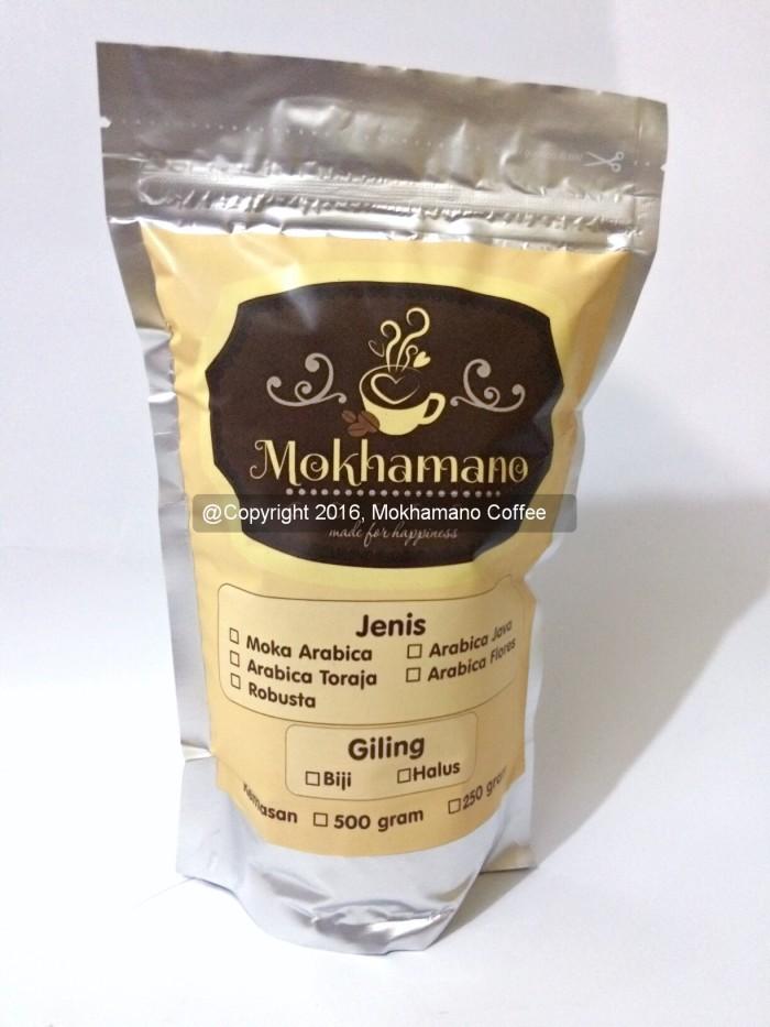 harga Mokhamano moka arabica / mokhamano kopi moka arabica 500 gram Tokopedia.com