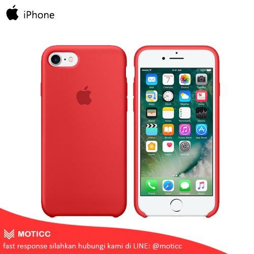 promo code dea1e 09e94 Jual Official Original Apple iPhone 7 / 7S / 7 Plus / 7S Plus Silicone Case  - Kab. Tangerang - Moticc | Tokopedia