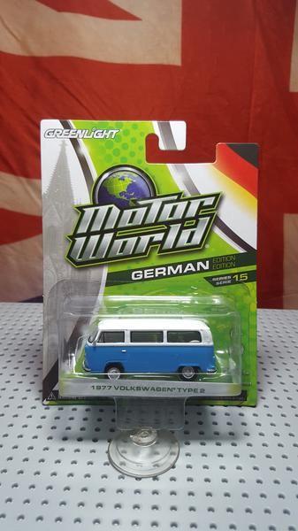 Jual Beli Greenlight 1977 Volkswagen Type 2 Baru | Diecast dan Hotwh