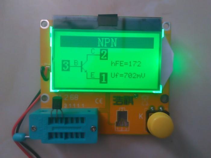 harga Esr Scr Meter Lcr-t4 12864lcd Transistor Tester Tokopedia.com
