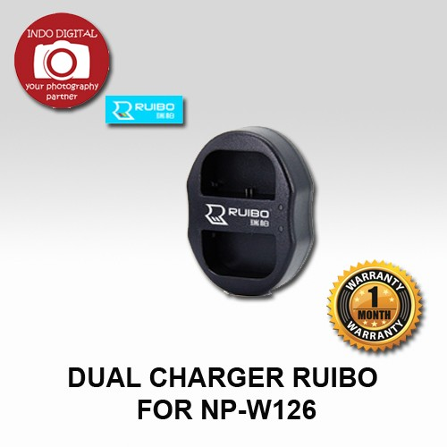 Dual charger ruibo for np-w126