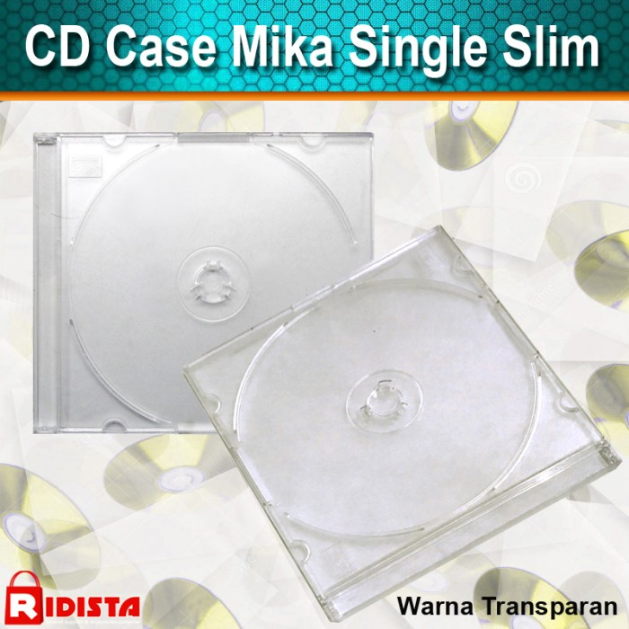 harga Cd case mika single slim ( i 003) paket 10 pcs Tokopedia.com