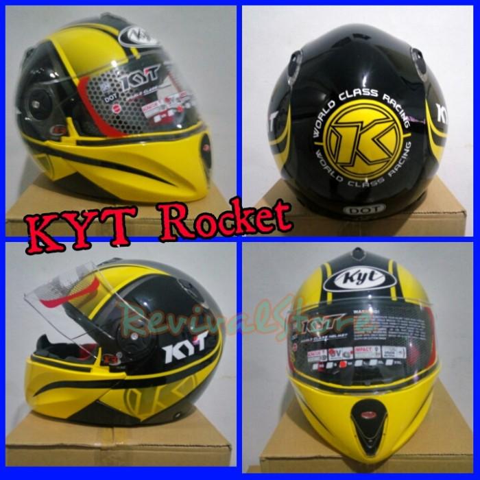 Helm KYT X Rocket Retro Full Face Murah