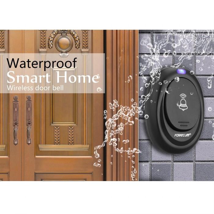 harga Bel pintu tanpa kabel led anti air 36 melodi colokan listrik langsung Tokopedia.com