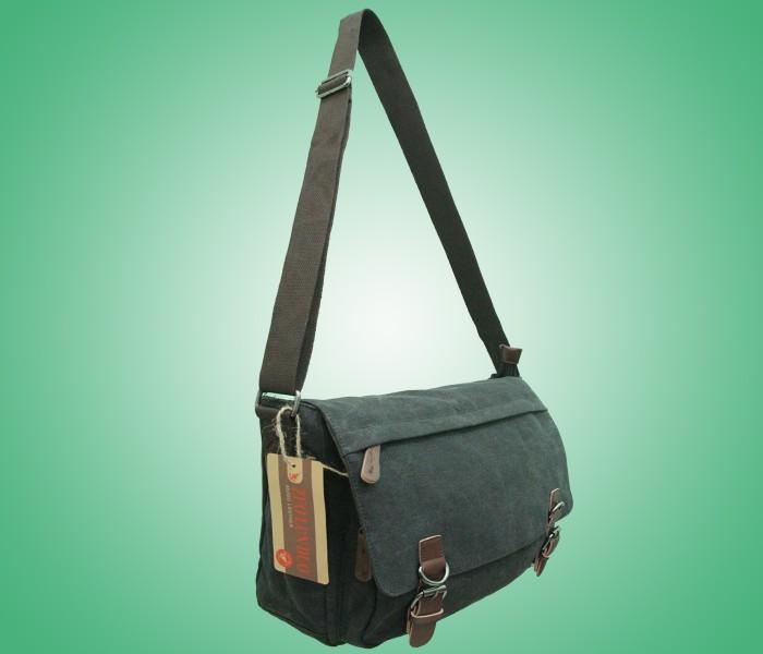 Tas selempang pria tas selempang wanita MUGU 8645-1 HITAM