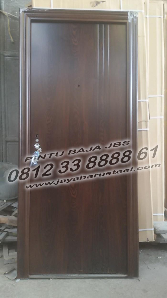 Jual 5578 785 JBS Desain Pintu Rumah Minimalis Modern BAJA Jember Kota Surabaya Jual PintuRumah Surabay