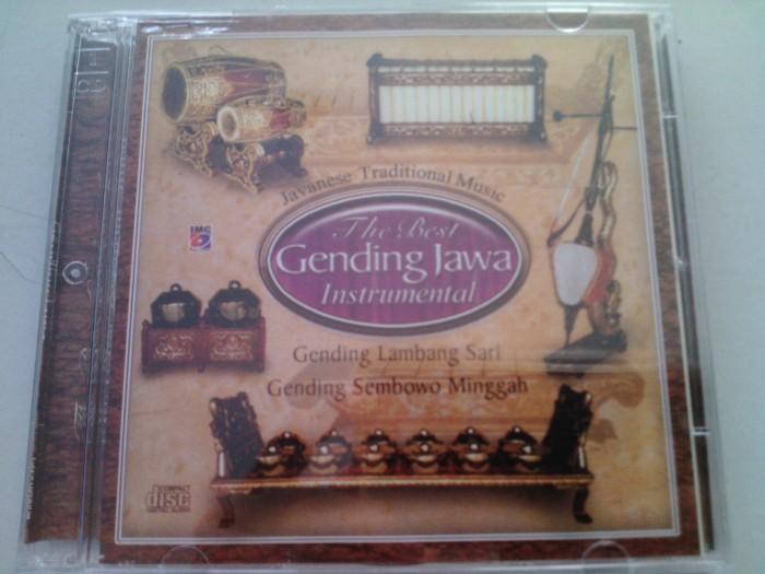 harga Cd original the best gending jawa instrumental Tokopedia.com