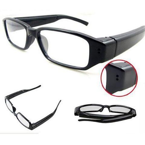 Spy Cam Terbaru bentuk Kacamata kamera pengintai Putih HD 720P Bagus