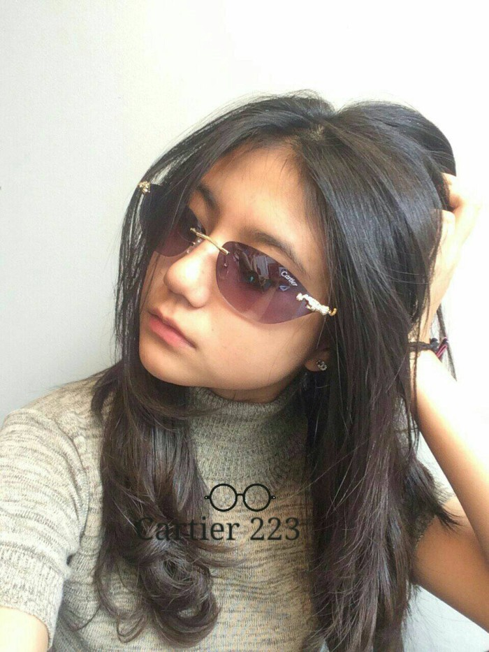 harga Kacamata gaya fashion sunglasses cartier 223 keren modis Tokopedia.com