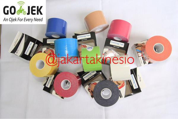harga [jakartakinesio] Kinesio Tape / Taping Sport / Rubber Strap - Putih Tokopedia.com