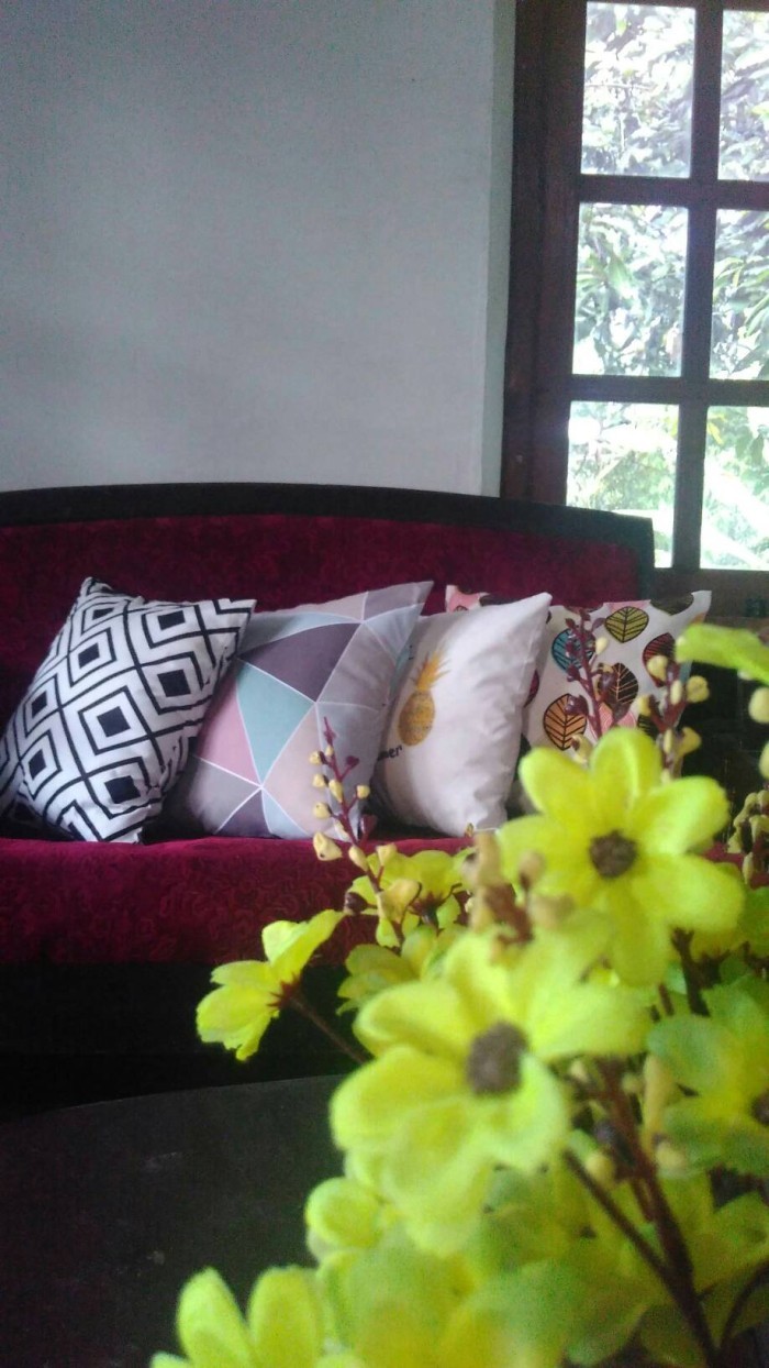 Jual Bantal Sofa Home Sweet Home Dekoasi Ruang Tamu Cushion  # Meuble Tv Swithome