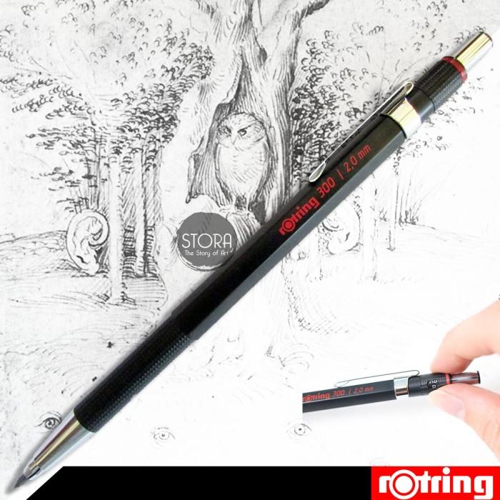 harga Rotring pensil sketsa 2mm Tokopedia.com