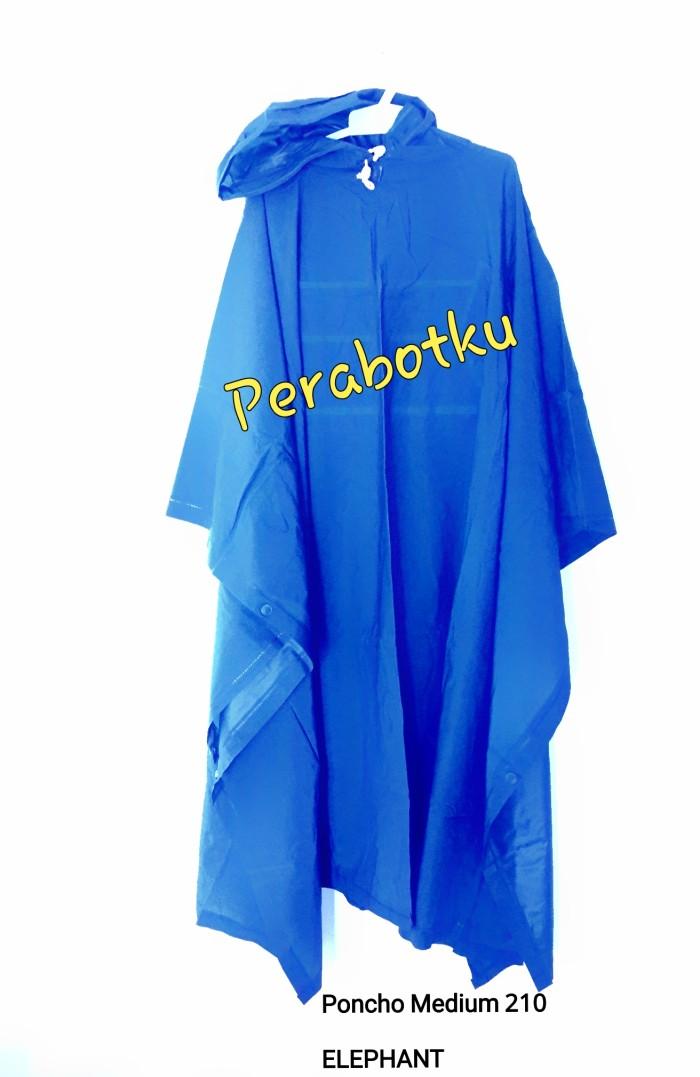 harga Murah jas hujan dewasa ponco medium 210 poncho elephant kalong Tokopedia.com