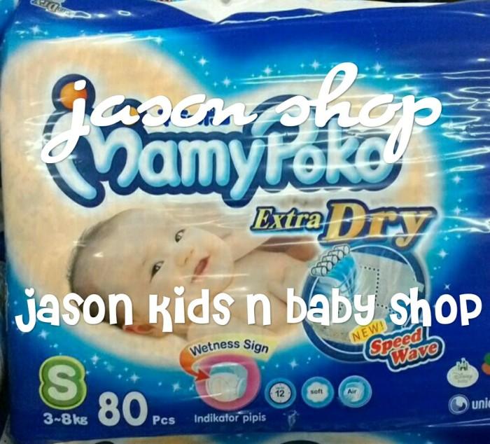 harga Pampers Bayi/diapers Mamy Poko Tape Extra Dry (perekat) S Isi 80pc Tokopedia.com