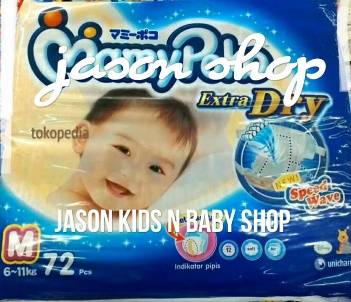 harga Pampers Bayi/diapers Mamy Poko Tape Extra Dry (perekat) M72/l62 Tokopedia.com