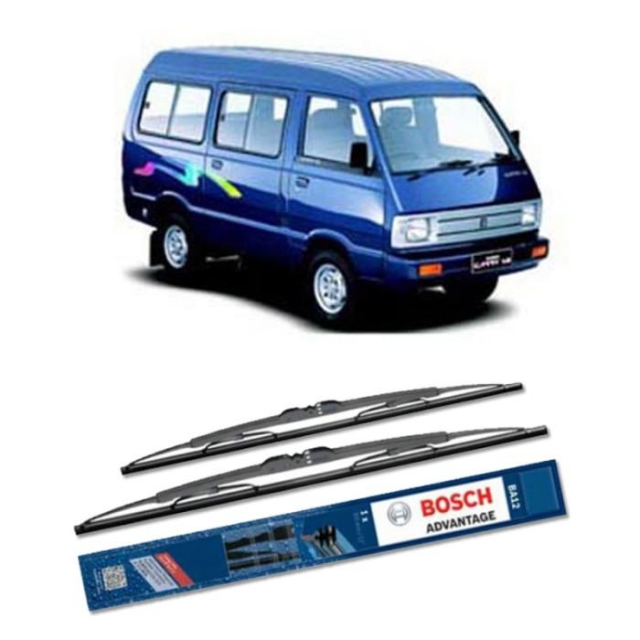 harga Bosch sepasang wiper kaca mobil suzuki carry (1990) advantage 17 & 17 Tokopedia.com