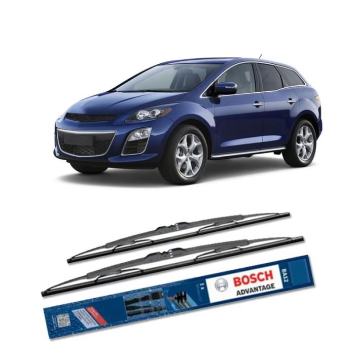 Jual Bosch Sepasang Wiper Kaca Mobil Mazda Cx-7 (2006) Advantage 26  & 16  Harga Promo Terbaru
