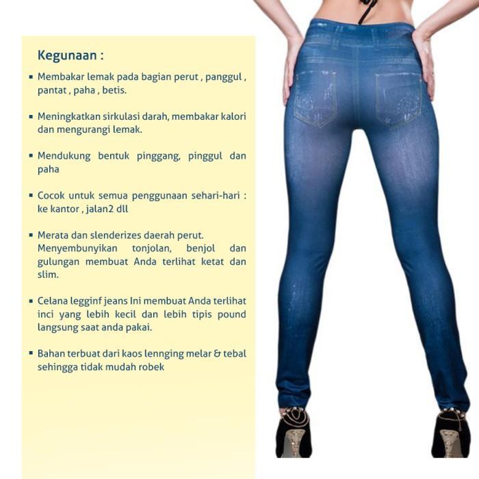Jual Slim N Lift Jeans Celana Legging Burning Fat Jeans Jakarta Utara Double Diamond Tokopedia
