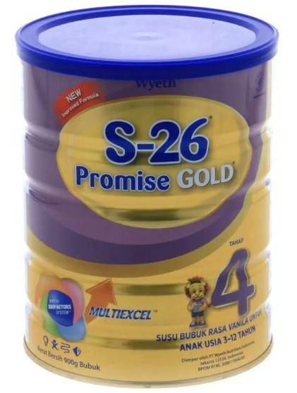 S-26 Promise Gold Tahap 4 900gr