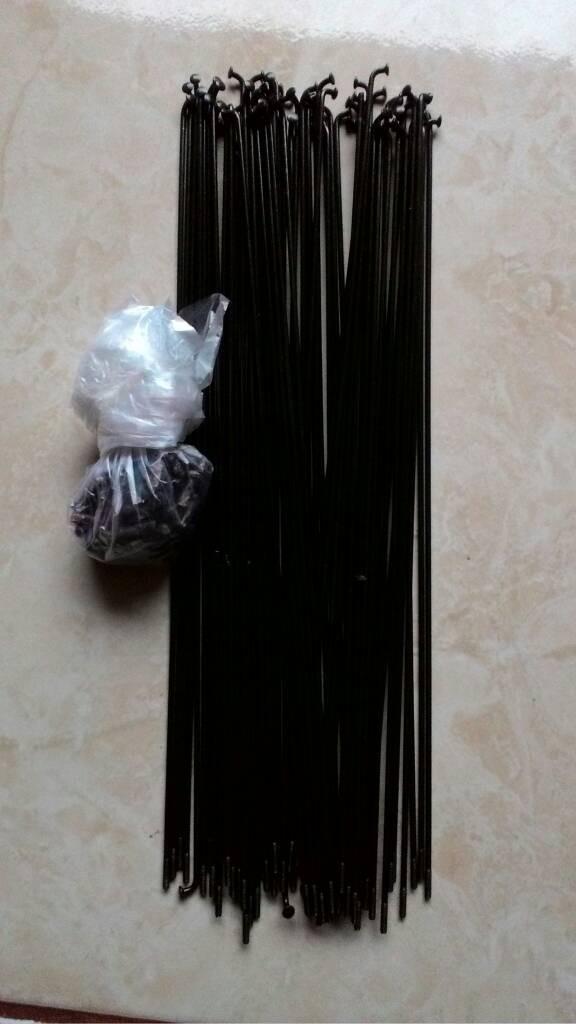 harga Jari2/jari-jari/spoke 262  araya 700c dan velg 3 cm fixie Tokopedia.com