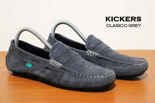 ... harga Sepatu casual pria kickers classico slip on suede 5 warna bagus  Tokopedia.com 60b13158f7