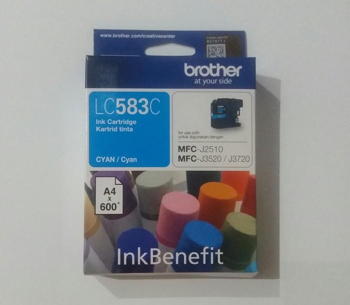 Brother original ink cartridge lc583 cyan ink benefit ...