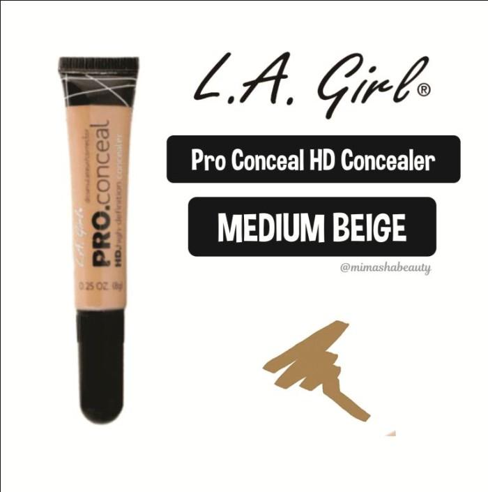 harga L.a. la girl pro conceal hd pro conceal hd concealer - medium beige Tokopedia.com
