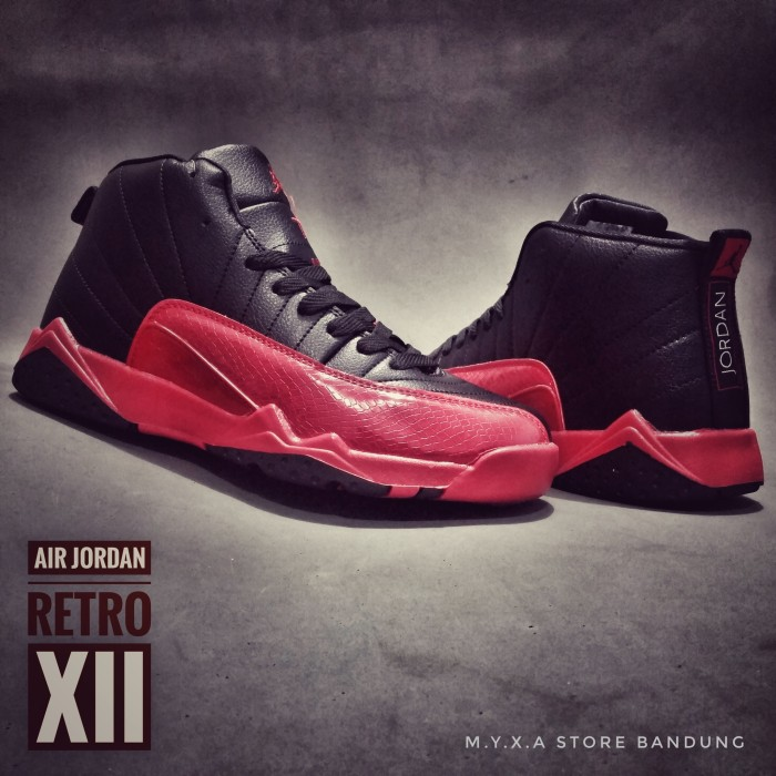 07af0c1bad4df0 Sepatu basket murah air jordan retro xii size 40 - 44 harga ...