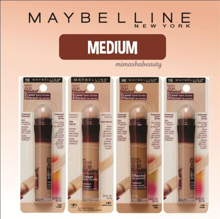 harga Maybelline instant age rewind eraser dark circle concealer 130 medium Tokopedia.com