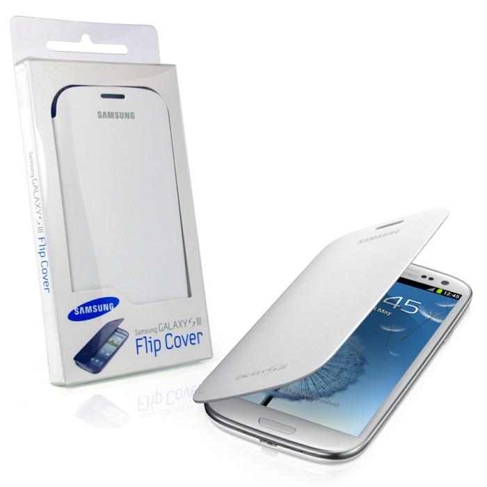 harga Samsung flip cover galaxy s3 original -white Tokopedia.com