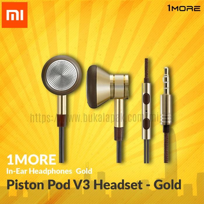harga Xiaomi 1more piston pod v3 headset - gold Tokopedia.com